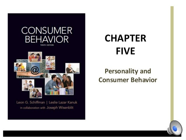 CHAPTER   FIVE  Personality andConsumer Behavior