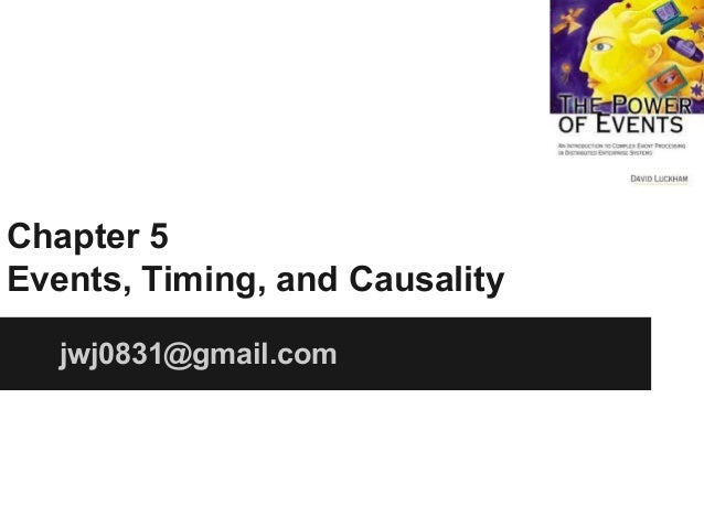 Chapter 5 Events, Timing, and Causality jwj0831@gmail.com