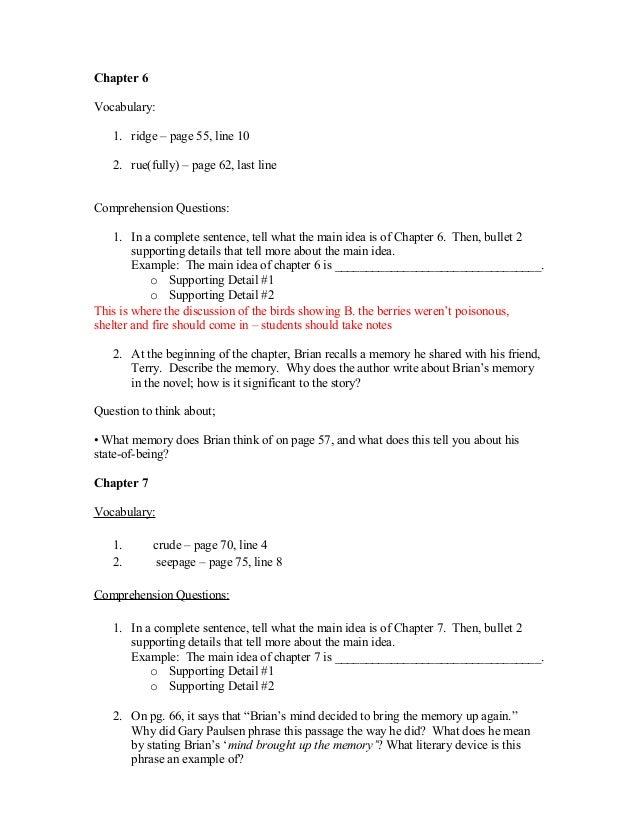 Book analysis essay hatchet book