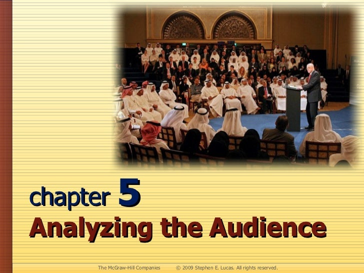 chapter  5 Analyzing the Audience