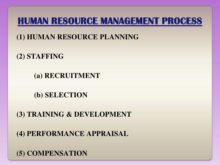 Problems of Human Resources Management