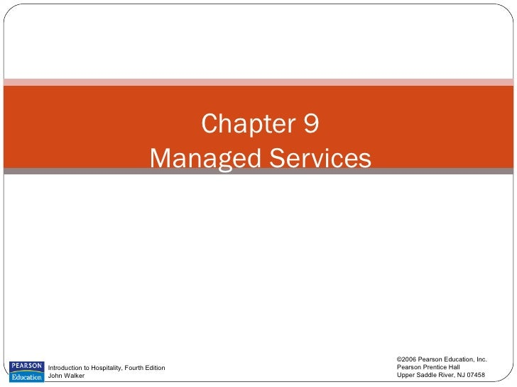 Chapter 9                                     Managed Services                                                        ©200...