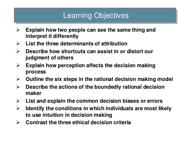 List of biases in judgment and decision making