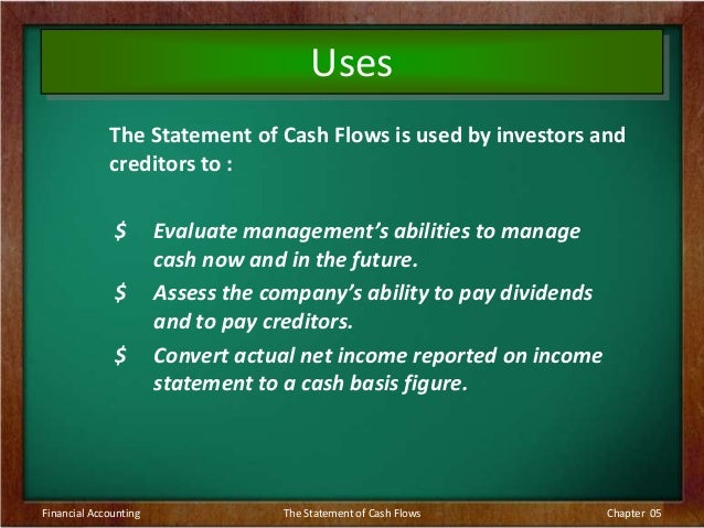 cash flow essay Statement of cash flows theory essaysthe federal accounting standards board (fasb) creates generally accepted accounting principles (gaap) within the united states the fasb is a non-governmental, not-for-profit organization created to establish financial accounting and reporting standards, for th.