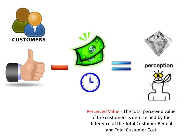 the perceived value for the customers marketing essay 1 explain customer-perceived value 2 explain total customer satisfaction 3 what valuable functions can brands perform for a firm 4 given that the power of a brand resides in the minds of consumers and how it changes their response to marketing, there are two basic approaches to measuring brand equity.