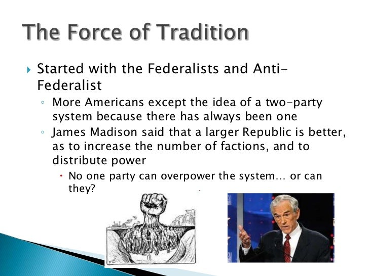 two party system essay Essay the effect of third party candidates in presidental elections although citizens of the united states have the opportunity to vote for many different offices at the national, state, and local levels, the election of the president of the united states every four years is the focal point of the american political process.