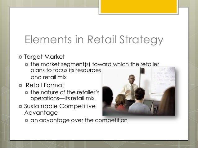 elements of retail mix Consumer marketing, relationship marketing, services marketing, retail  3  philip kotler still considers the mix as one of the elements of the marketing  strategy.