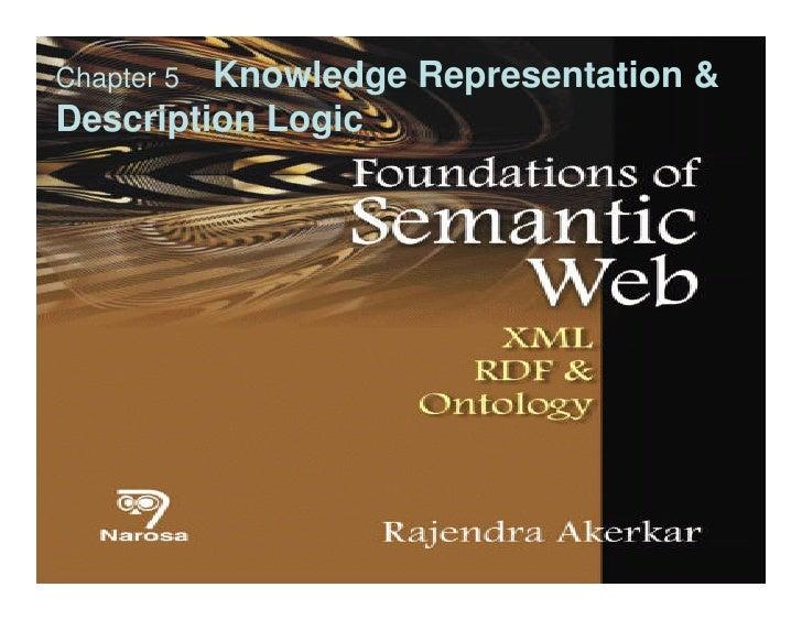 Chapter 5Knowledge Representation &Description Logic