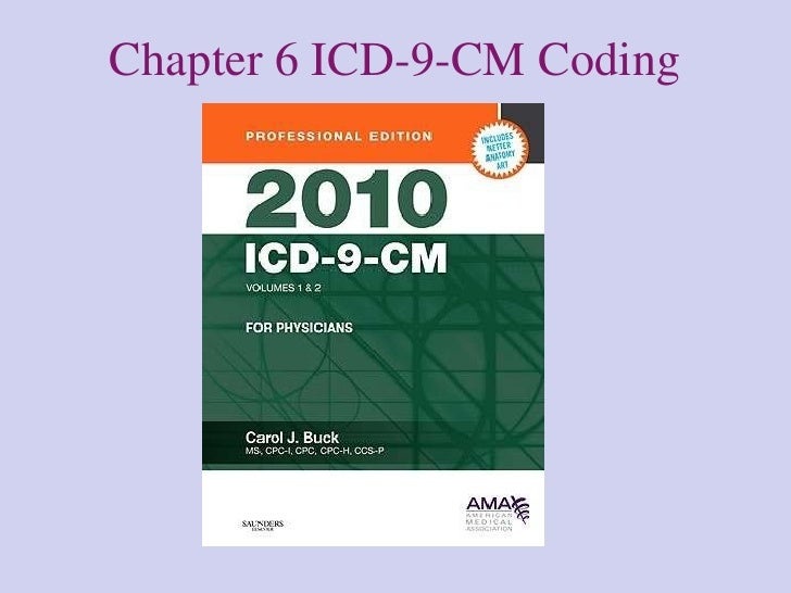 Chapter 6 ICD-9-CM Coding
