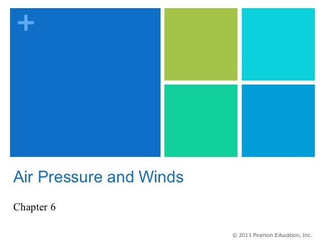 +Air Pressure and WindsChapter 6                         © 2011 Pearson Education, Inc.