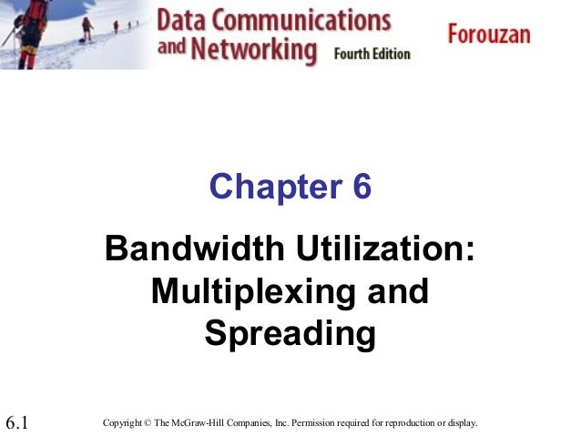 Chapter 6   bandwidth utilization -multiplexing and spreading_computer_network