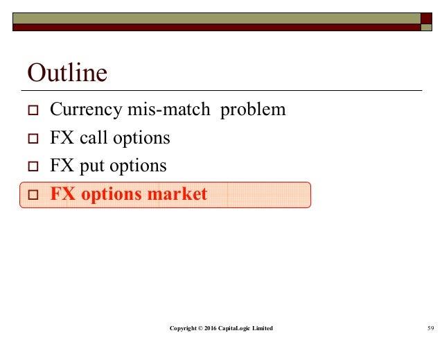 Put options on fxe