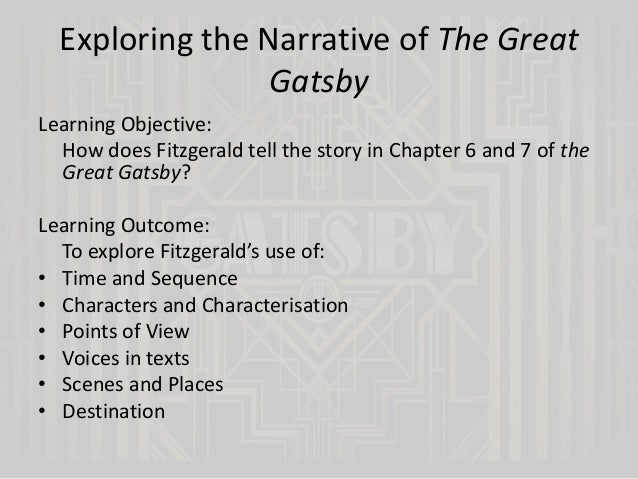 great gatsby chapter 3 how does Published in 1925, the great gatsby is a classic piece of american fiction  (at  the end of chapter 3, he was determined to break off relations with a girl back.