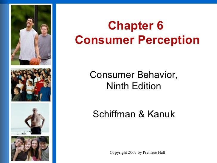 Customer loyalty and customer perception