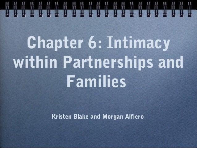Chapter 6 Intimacy within partnerships