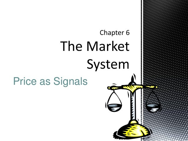 Price as Signals