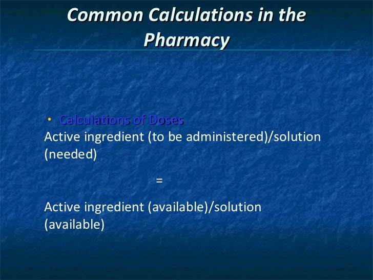 math worksheet : chapter 6 pharmacy calculation : Pharmacy Math Worksheets