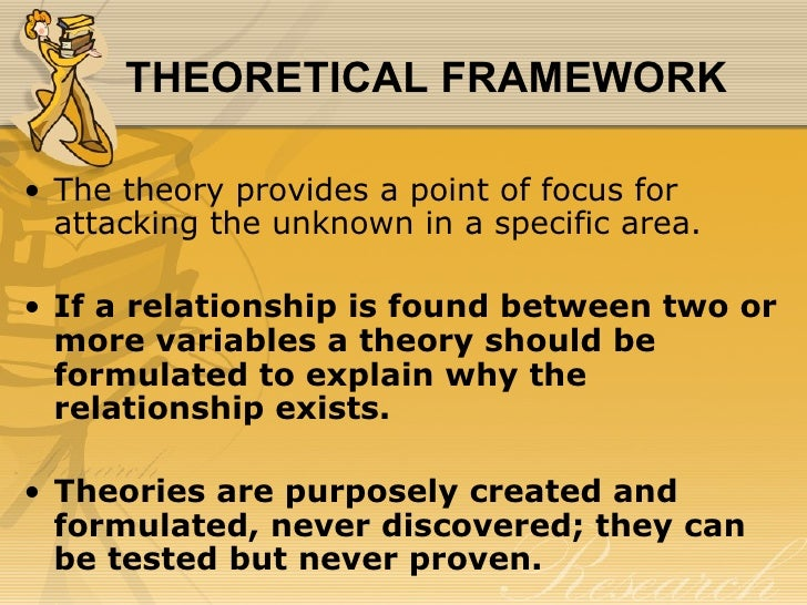 theoretical framework and dissertation