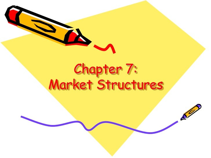 Chapter 7:Market Structures<br />
