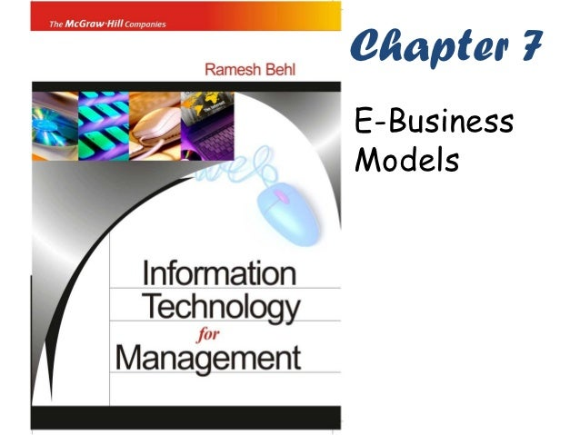 Chapter 7E-BusinessModels