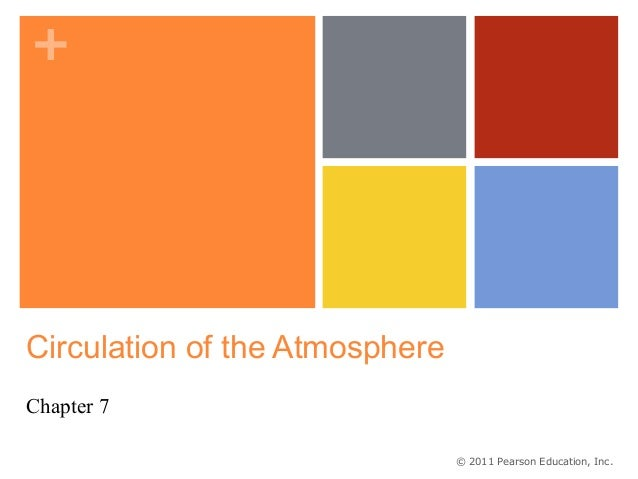 +Circulation of the AtmosphereChapter 7                                © 2011 Pearson Education, Inc.