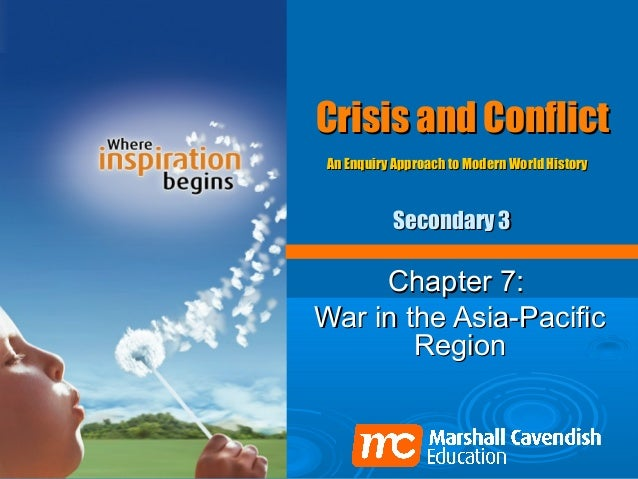 Crisis and ConflictAn Enquiry Approach to Modern World History          Secondary 3     Chapter 7:War in the Asia-Pacific ...