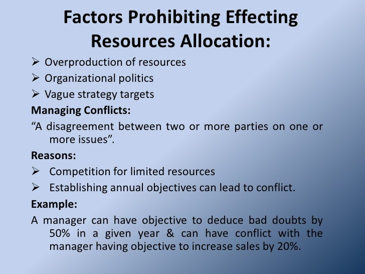 the issue of resource allocation as an economic problem The mixed economy is a combination of two economic approaches,  resource allocation is determined by a central authority .