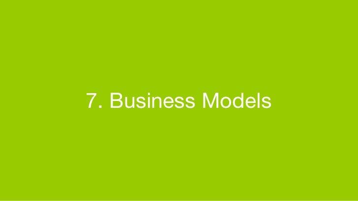 7. Business Models