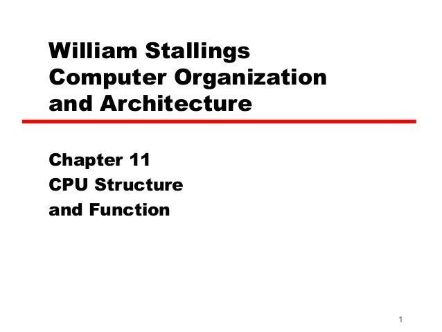 Chapter 7 cpu struktur dan fungsi