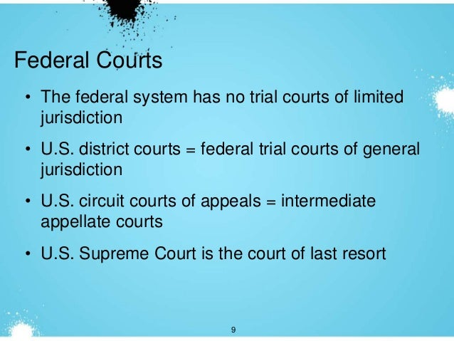 the us federalism system that is based with limited authority Introduction to the federal court system is the types of cases that can be heard in the federal system federal courts are courts of limited jurisdiction (united states court of federal claims), and international trade (united states court of international trade.