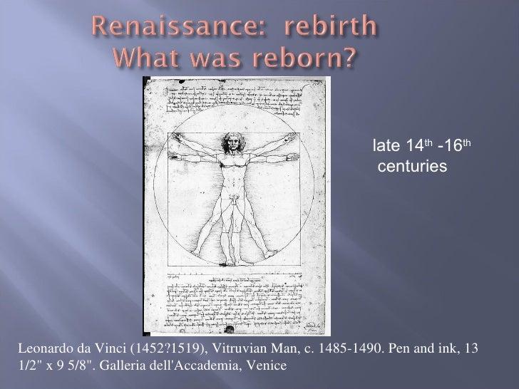 """Leonardo da Vinci (1452?1519), Vitruvian Man, c. 1485-1490. Pen and ink, 13 1/2"""" x 9 5/8"""". Galleria dell'Accadem..."""