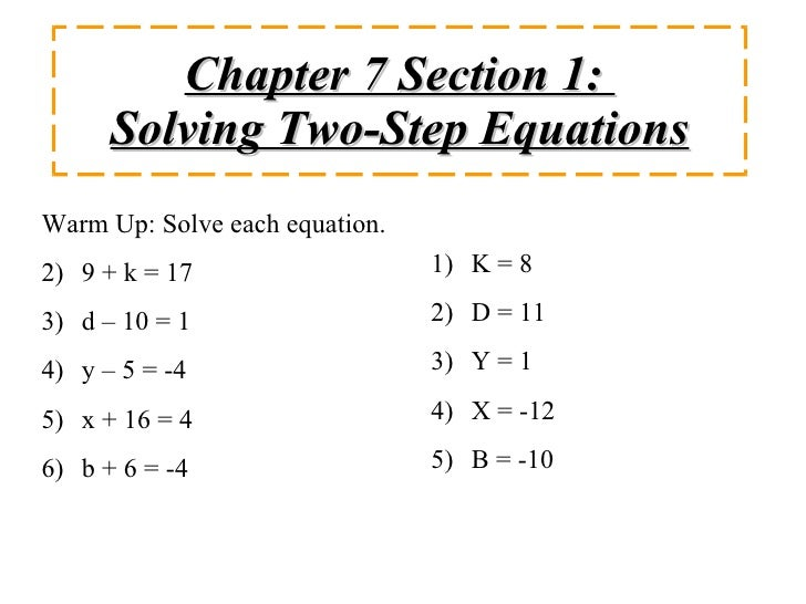 Practice 1 step and 2 step equations. Set of 5 memory games plus 2 ...