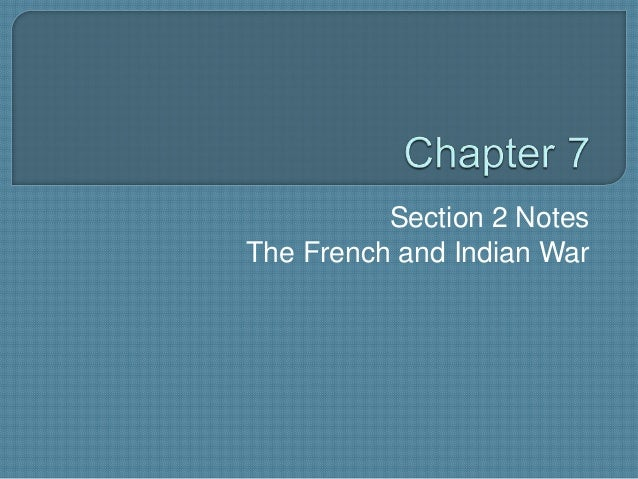 Chapter 7 Section 2 Notes