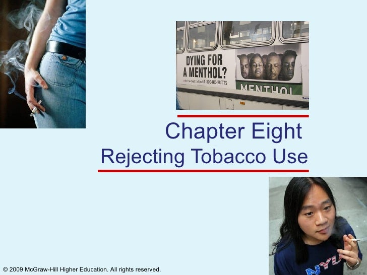 Chapter Eight  Rejecting Tobacco Use