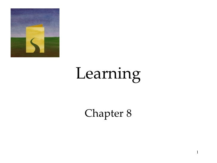 Learning Chapter 8