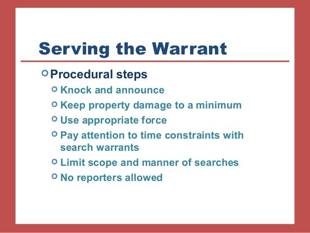 exceptions to search warrant requirements Other exceptions of the search warrant requirements include fleeing felon, search pursuant to an arrest.