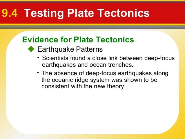 Support Plate Tectonics Evidence For Plate Tectonics