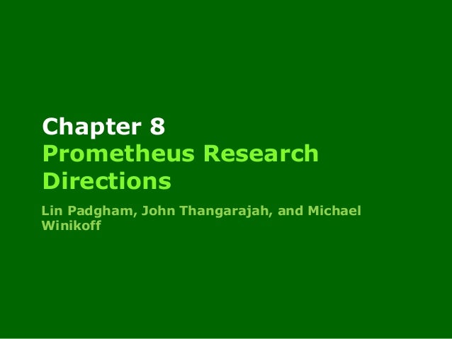 Prometheus research