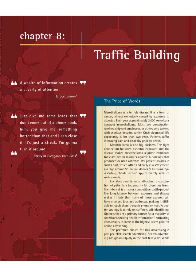 Chapter 8   traffic building