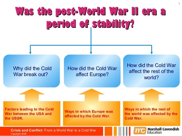 1      Was the post-World War II era a            period of stability?                                                    ...