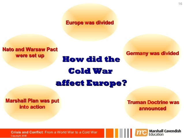 The Cold War in Europe Essay