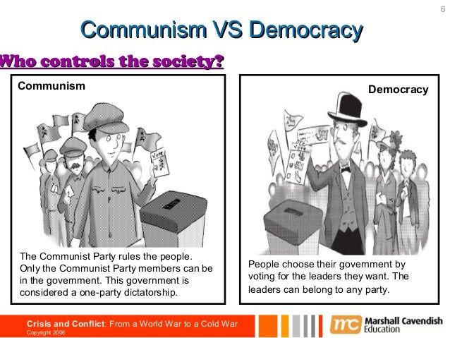 democracy and communism essay Keywords: communism vs capitalism essay communism and capitalism, the totally opposite systems, always fight, although the capitalism is a bit older than the communismthe most important ones of these fights date back to the cold warthis war was between the countries of warsaw pact and the ones of nato(north atlantic treaty organization.