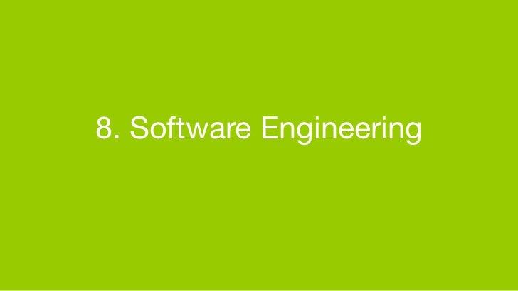 8. Software Engineering