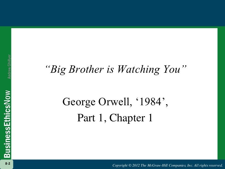 a chapter by chapter summary and relevant quotes from 1984 by george orwell 1984 homework help questions in orwell's 1984, what are winston's thoughts about human heritage and dying in the early chapters of george orwell's novel 1984, the protagonist of the novel, winston smith, comes to various conclusions about human heritage and about dying or death.