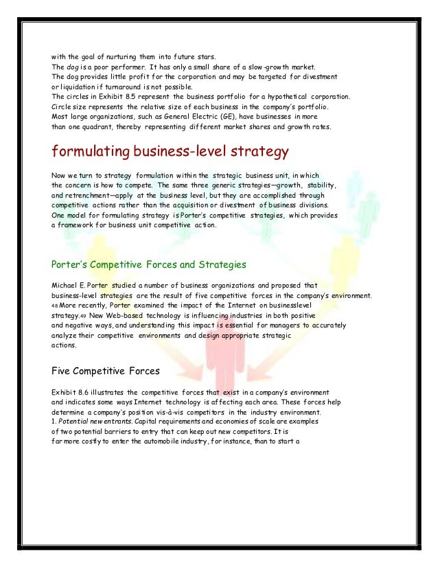 strategy formulation implementation If you were the ceo of coca-cola, what strategies might you adopt to regain the competitive edge how would you go about formulating and implementing a new strategic plan by jacky_84 in types business/law.