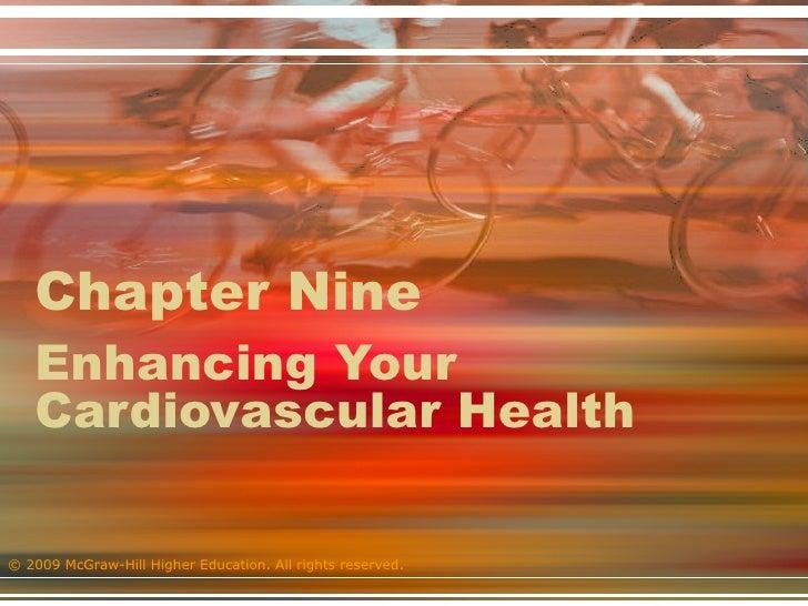 Chapter Nine  Enhancing Your Cardiovascular Health