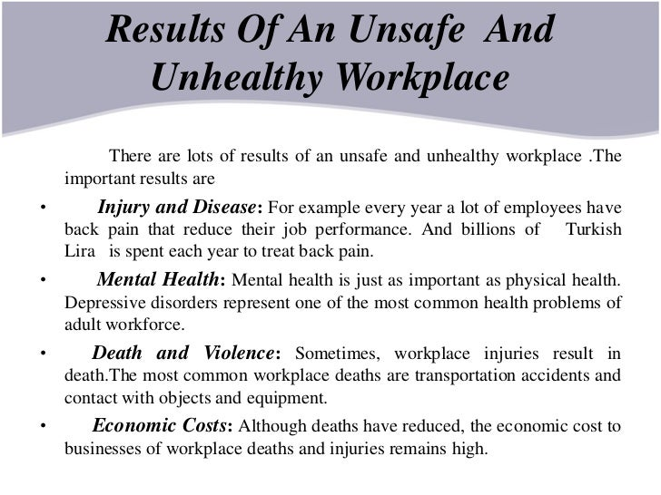 the different causes of death in the workplace The recent death and mortality report revealed the causes of natural deaths in each province ~ diabetes ranked in the top four causes of death in two thirds of the provinces, with the report showing that it was the second leading cause in limpopo, and third in the eastern cape, kwazulu-natal and.