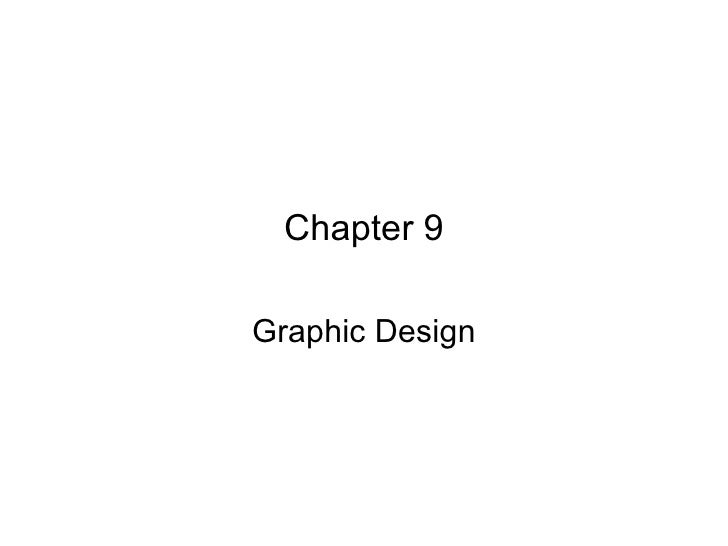 Chapter 9 Graphic Design