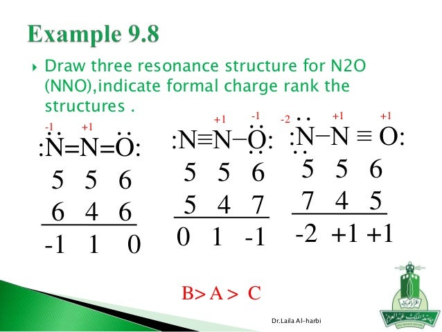 N2o Lewis Structure Chapter 9