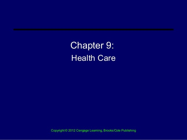 Chapter 9 Health Care Delivery System